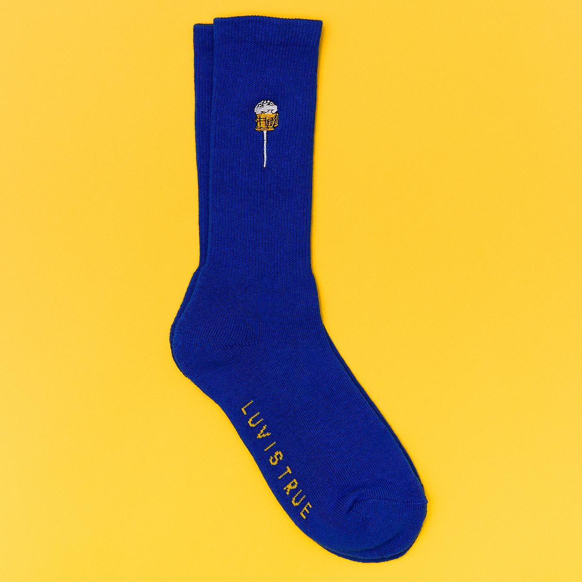 (UNISEX)SC CANDY SOCKS_BL