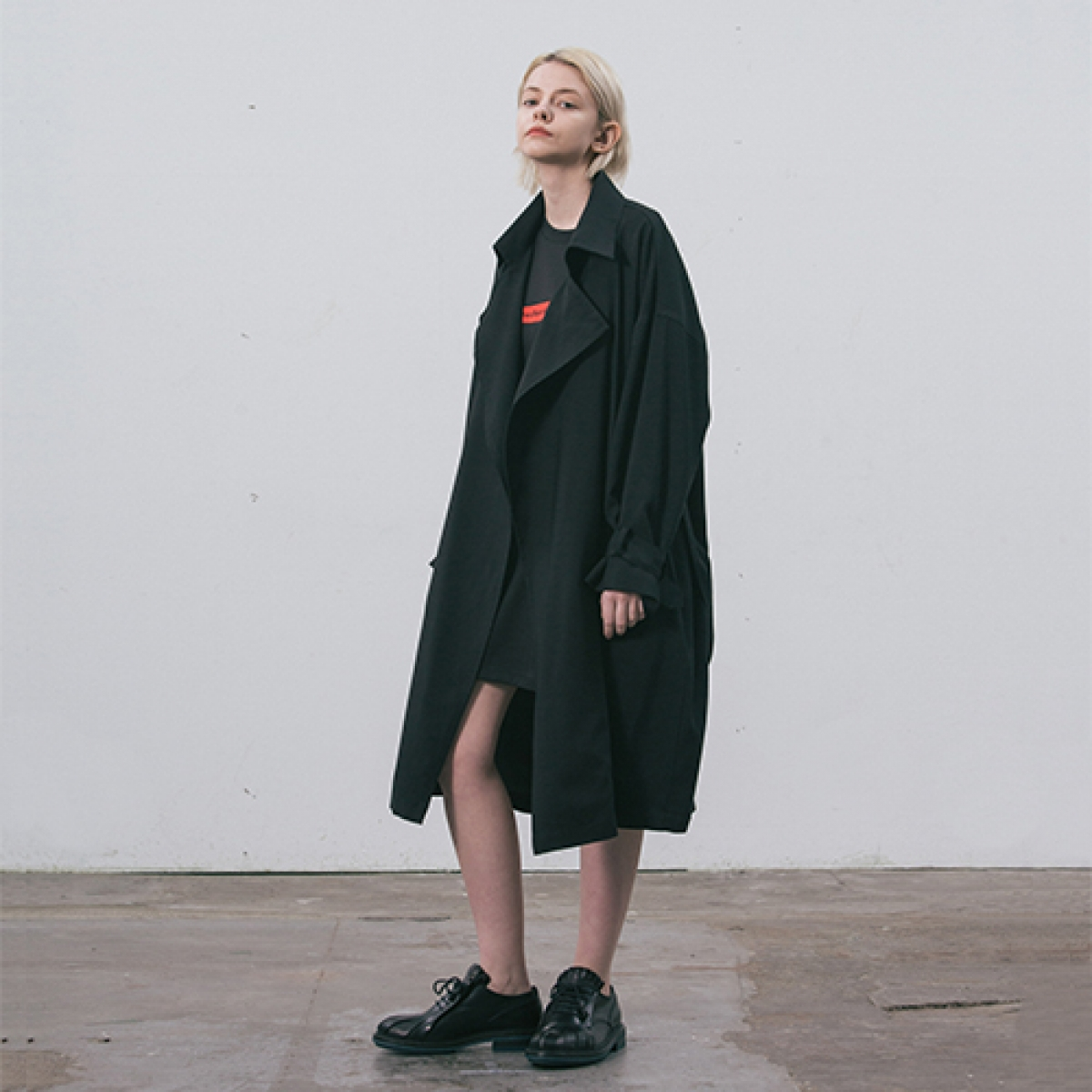 LI TRENCH COAT_BK