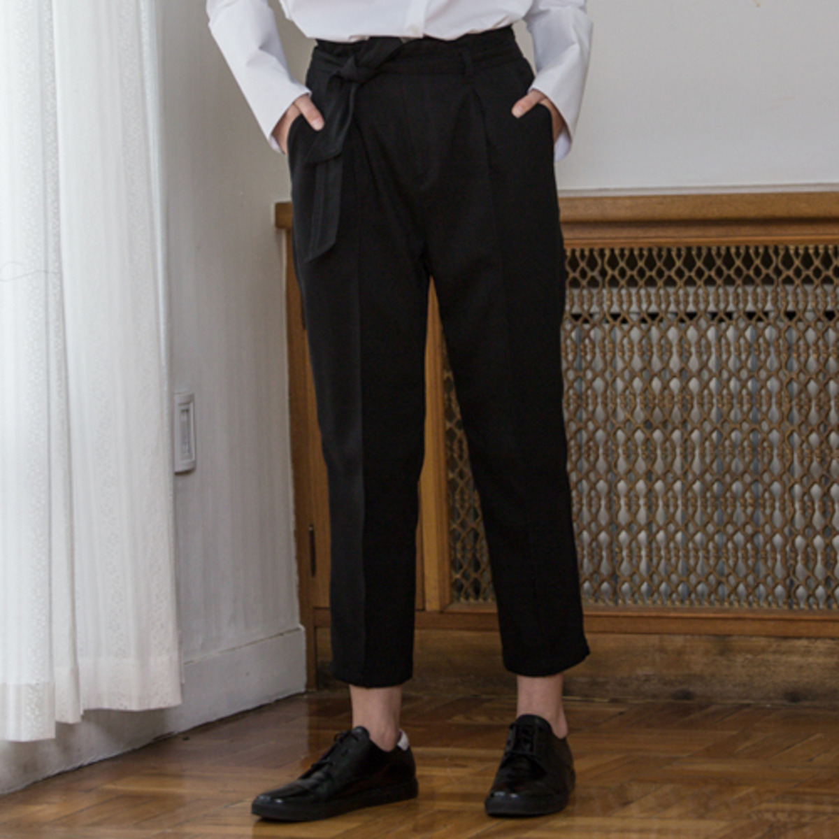 LP HIGH WAIST PANTS_BK