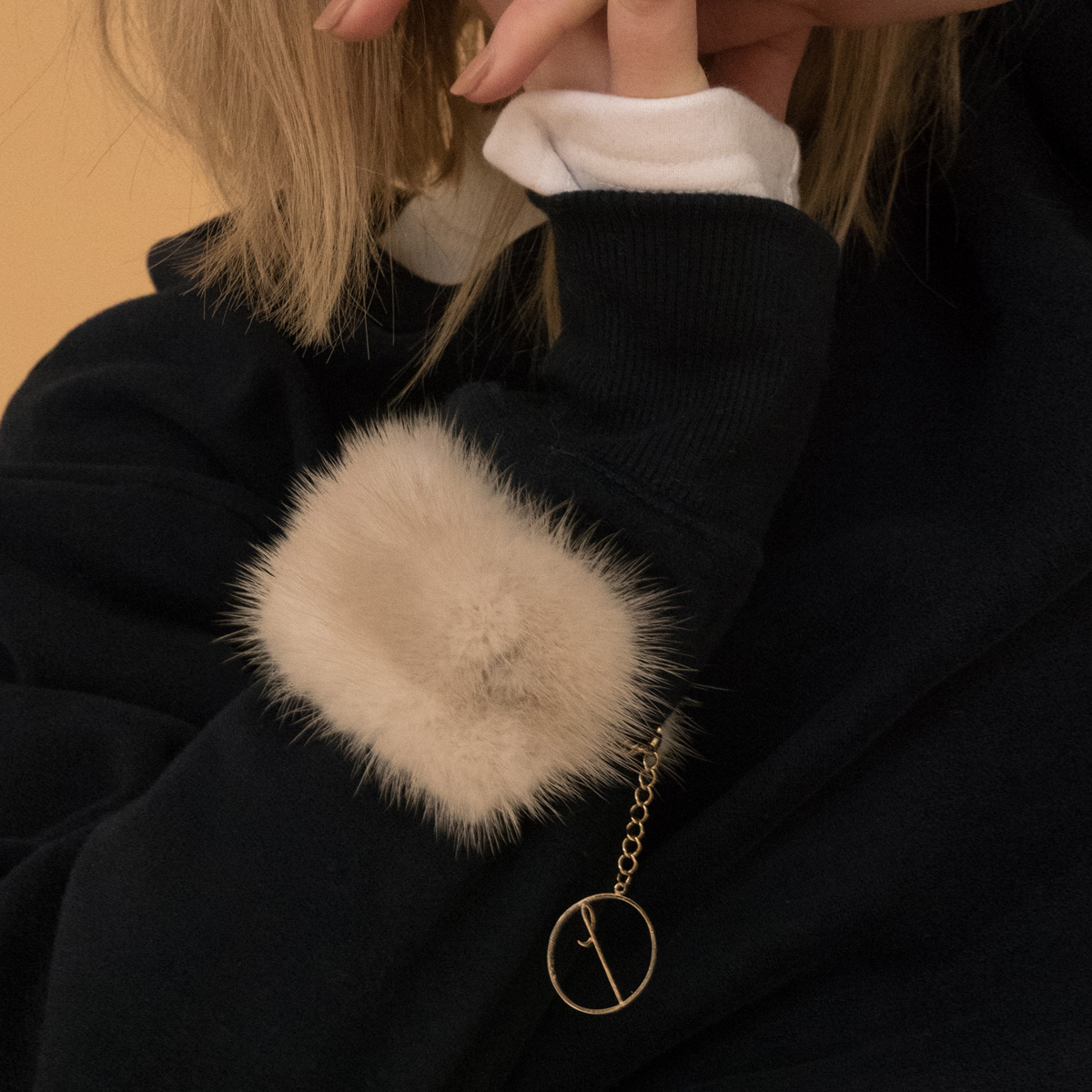 LD FUR BRACELET_BE