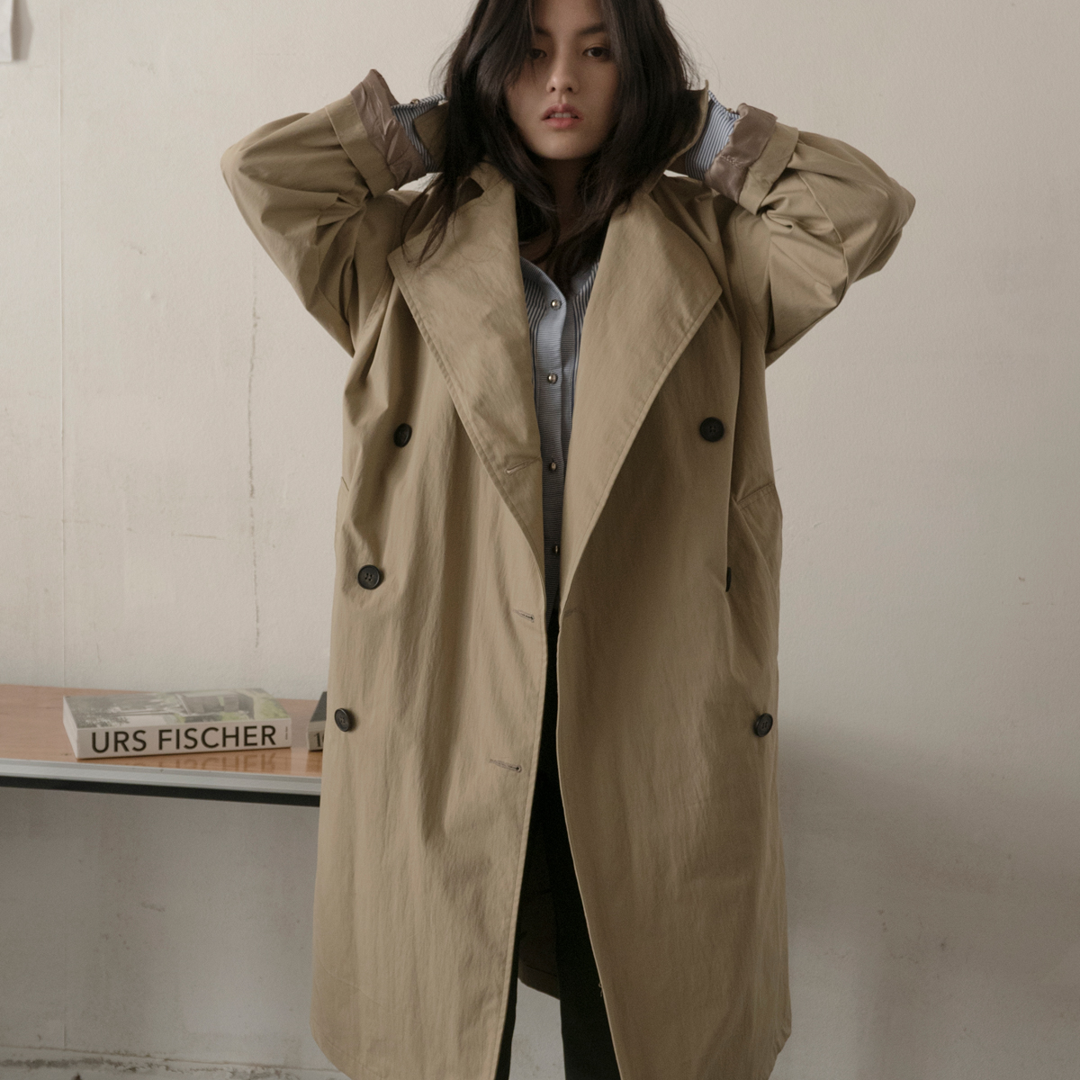 LC TRENCH COAT_BE