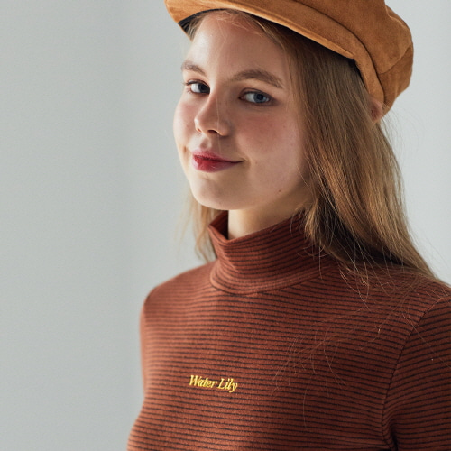 MO ST TURTLENECK(BROWN)